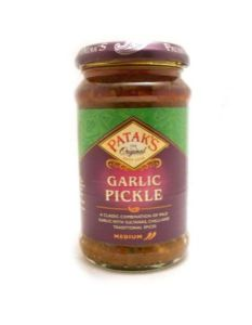 Pataks Garlic Pickle | Buy Online at The Asian Cookshop.